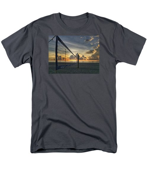 Volleyball Sunrise Men's T-Shirt  (Regular Fit)