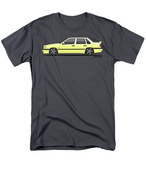 Volvo 850r 854r T5-r Creme Yellow Men's T-Shirt  (Regular Fit) by Monkey Crisis On Mars