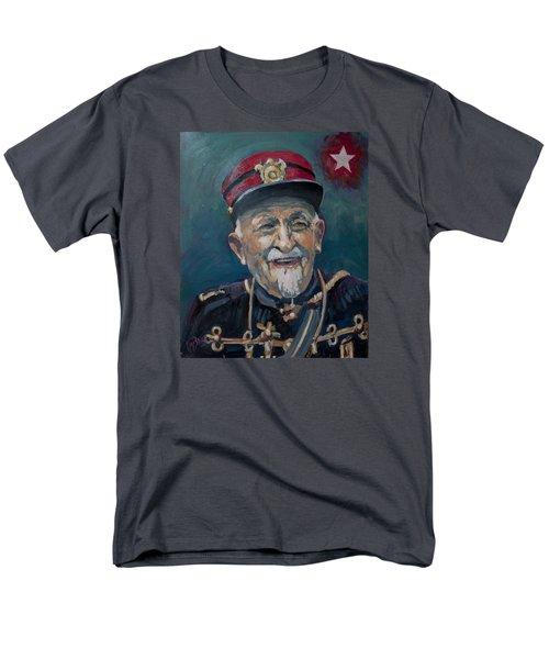 Men's T-Shirt  (Regular Fit) featuring the painting Voulez Vous Un Pelske by Nop Briex