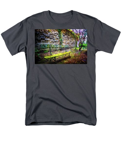 Men's T-Shirt  (Regular Fit) featuring the photograph Waiting by Debra and Dave Vanderlaan
