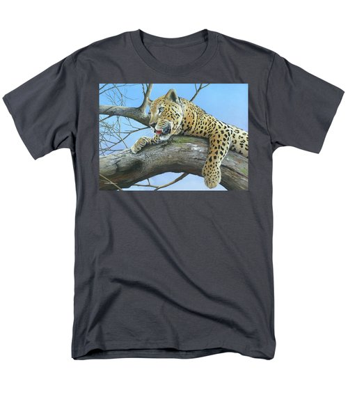 Men's T-Shirt  (Regular Fit) featuring the painting Waiting Game by Mike Brown