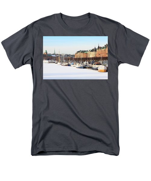 Waiting Out Winter Men's T-Shirt  (Regular Fit) by David Chandler