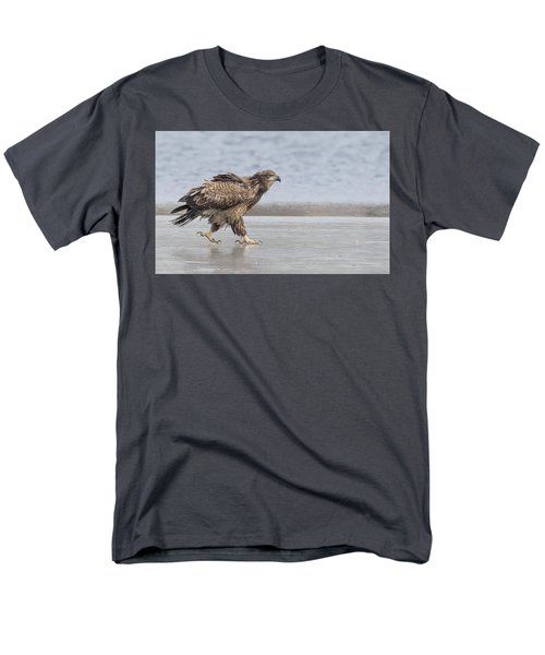 Walk Like An Eagle Men's T-Shirt  (Regular Fit) by Kelly Marquardt