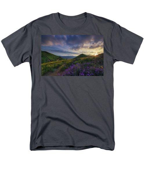Walker Canyon Men's T-Shirt  (Regular Fit) by Tassanee Angiolillo