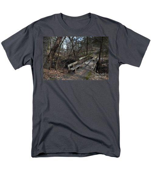 Walking Bridge Men's T-Shirt  (Regular Fit) by Renie Rutten