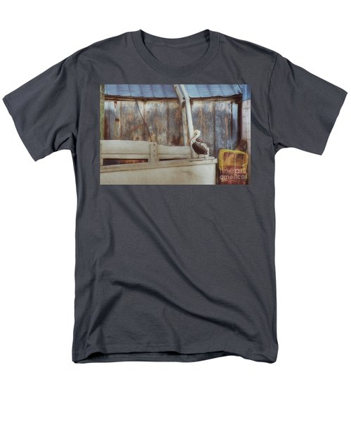 Men's T-Shirt  (Regular Fit) featuring the photograph Walking The Plank by Benanne Stiens