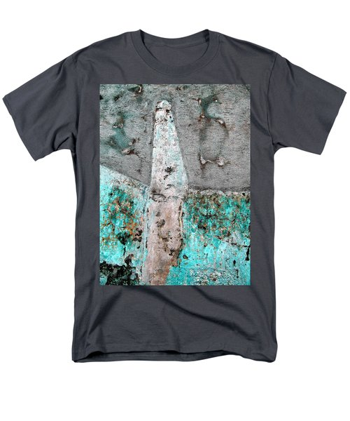 Wall Abstract 118 Men's T-Shirt  (Regular Fit) by Maria Huntley