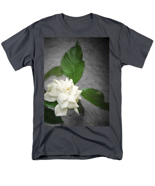 Men's T-Shirt  (Regular Fit) featuring the photograph Wall Flower by Carolyn Marshall