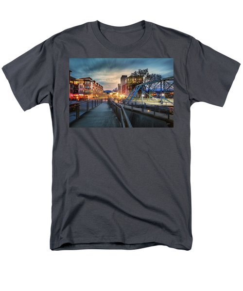 Walnut Street Circle Sunset Men's T-Shirt  (Regular Fit) by Steven Llorca