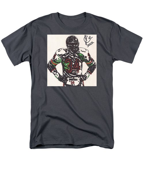 Walter Payton Men's T-Shirt  (Regular Fit) by Jeremiah Colley