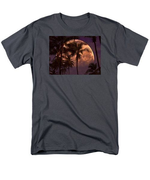 Men's T-Shirt  (Regular Fit) featuring the photograph Warm Tropical Nights by John Rivera