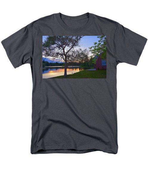 Warming House Men's T-Shirt  (Regular Fit) by Kate Arsenault