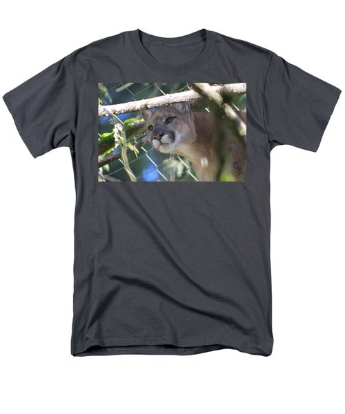 Men's T-Shirt  (Regular Fit) featuring the photograph Watchful Eyes by Laddie Halupa