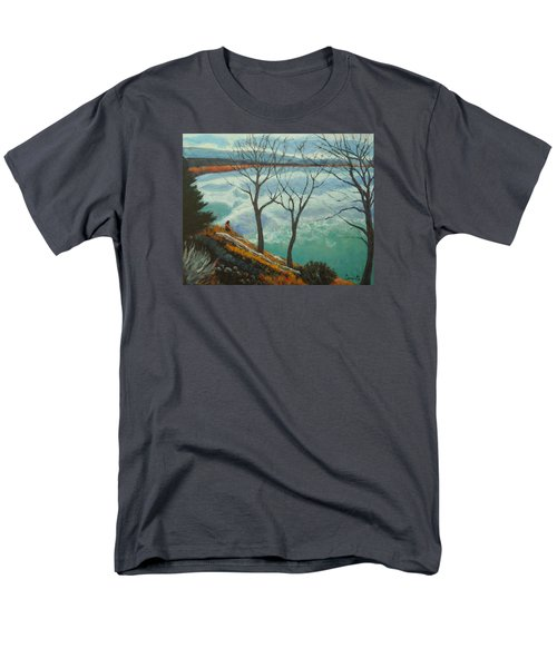 Watching The Clouds Go By Men's T-Shirt  (Regular Fit)