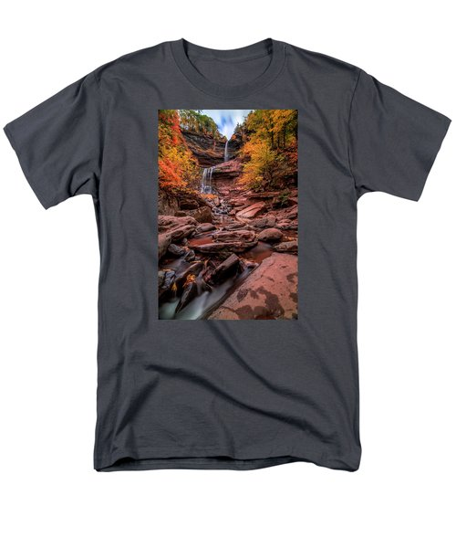 Water Falls  Men's T-Shirt  (Regular Fit) by Anthony Fields