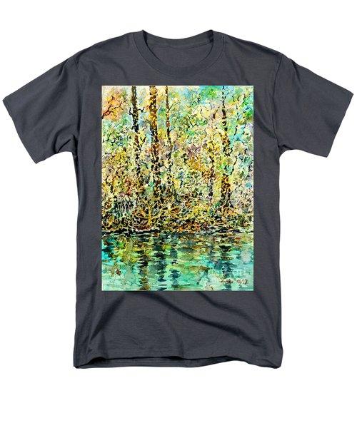Water Kissing Land Men's T-Shirt  (Regular Fit)