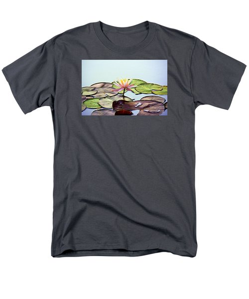 Men's T-Shirt  (Regular Fit) featuring the photograph Water Lily Dream by Lisa L Silva