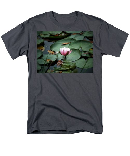 Men's T-Shirt  (Regular Fit) featuring the photograph Water Lily by Karen Stahlros