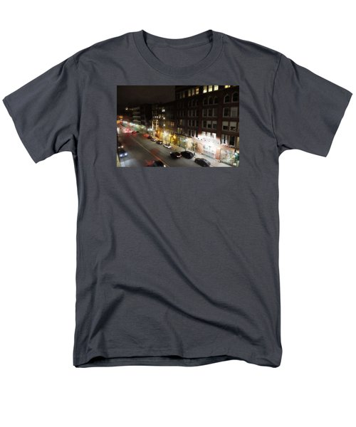 Water Street Looking South From The Marshall Building Men's T-Shirt  (Regular Fit) by David Blank