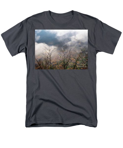 Men's T-Shirt  (Regular Fit) featuring the photograph Water Study by Melissa Stoudt
