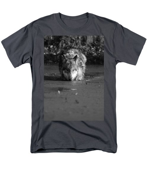 Men's T-Shirt  (Regular Fit) featuring the photograph Water Wolf I by Shari Jardina