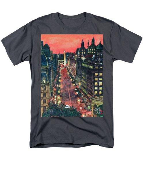 Watercolors-01 Men's T-Shirt  (Regular Fit) by Bernardo Galmarini