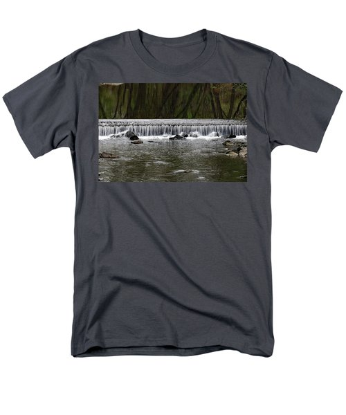 Waterfall 001 Men's T-Shirt  (Regular Fit) by Dorin Adrian Berbier