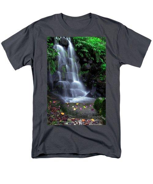 Waterfall Men's T-Shirt  (Regular Fit) by Carlos Caetano