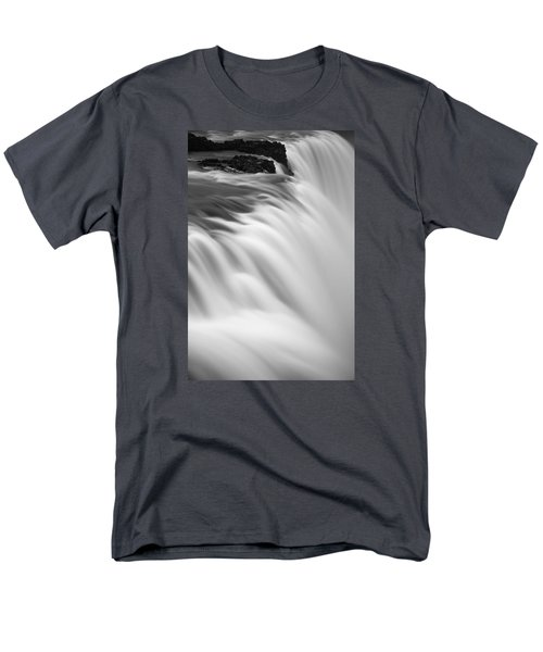 Waterfall Men's T-Shirt  (Regular Fit) by Chris McKenna