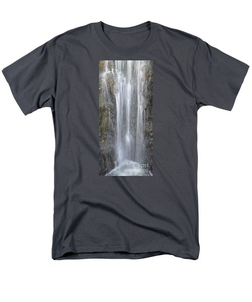 Waterfall  Men's T-Shirt  (Regular Fit) by Nora Boghossian