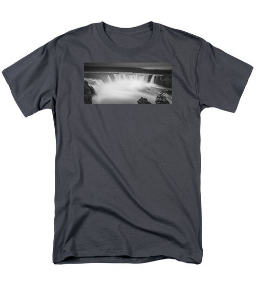Waterfall Of The Gods Iceland Men's T-Shirt  (Regular Fit) by Gunnar Orn Arnason