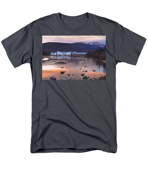 Waterville Valley Sunset Men's T-Shirt  (Regular Fit) by Nancy Griswold