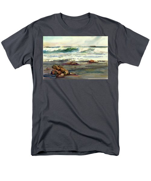 Wave Action Men's T-Shirt  (Regular Fit) by P Anthony Visco