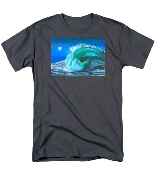 Wave Men's T-Shirt  (Regular Fit) by Veronica Rickard
