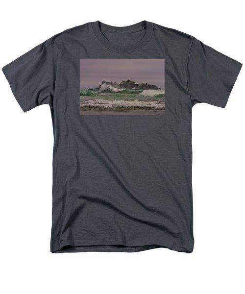 Waves 1 Men's T-Shirt  (Regular Fit) by Ulrich Burkhalter