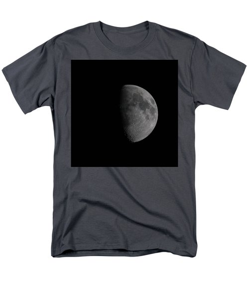Waxing Gibbous Moon Men's T-Shirt  (Regular Fit)
