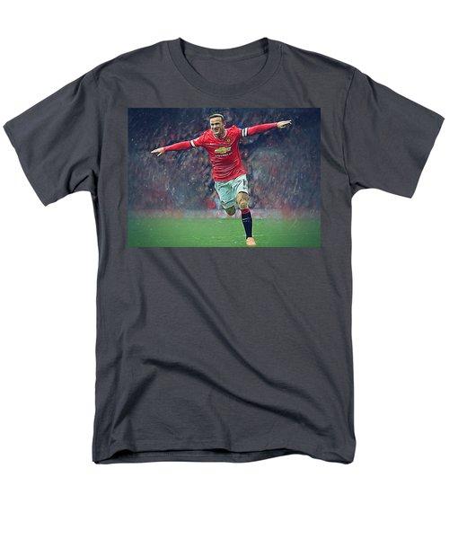 Wayne Rooney Men's T-Shirt  (Regular Fit) by Semih Yurdabak