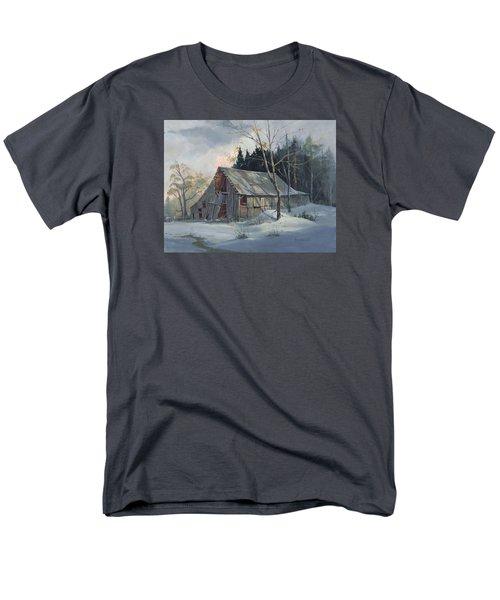 Weathered Sunrise Men's T-Shirt  (Regular Fit)