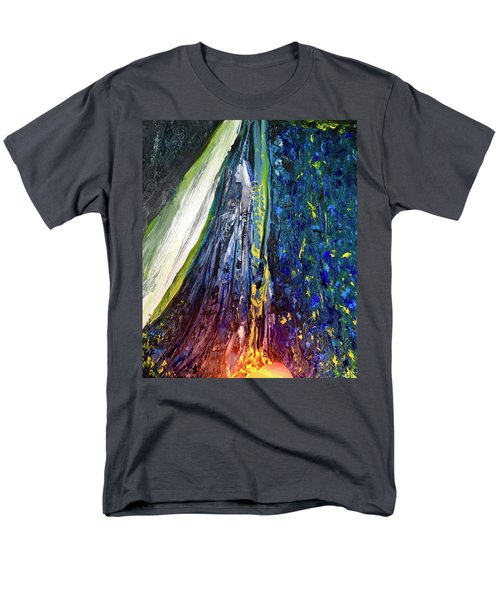Men's T-Shirt  (Regular Fit) featuring the painting Wednesday Turned Into Thursday by Kicking Bear Productions