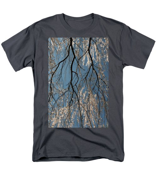 Men's T-Shirt  (Regular Fit) featuring the photograph Weeping Cherry #2 by Dana Sohr