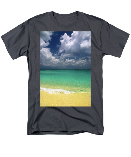 Welcome To Paradise Men's T-Shirt  (Regular Fit) by Marie Hicks
