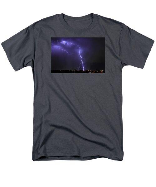 West Jordan Lightning 3 Men's T-Shirt  (Regular Fit) by Paul Marto