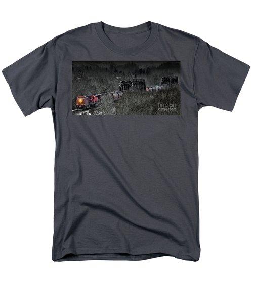 Westbound Grain II Men's T-Shirt  (Regular Fit) by Brad Allen Fine Art