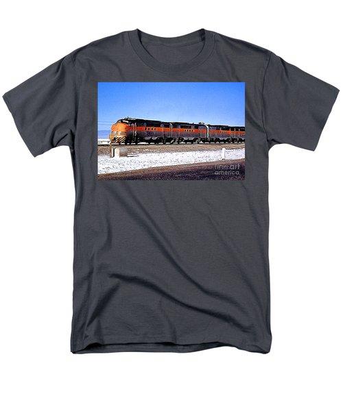 Western Pacific Diesel Locomotive Trainset Men's T-Shirt  (Regular Fit) by Wernher Krutein