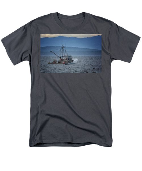 Men's T-Shirt  (Regular Fit) featuring the photograph Western Sunrise by Randy Hall