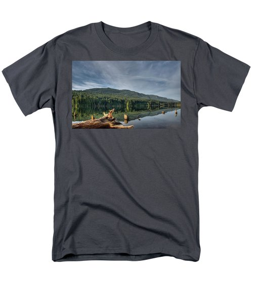 Men's T-Shirt  (Regular Fit) featuring the photograph Westwood Lake by Randy Hall