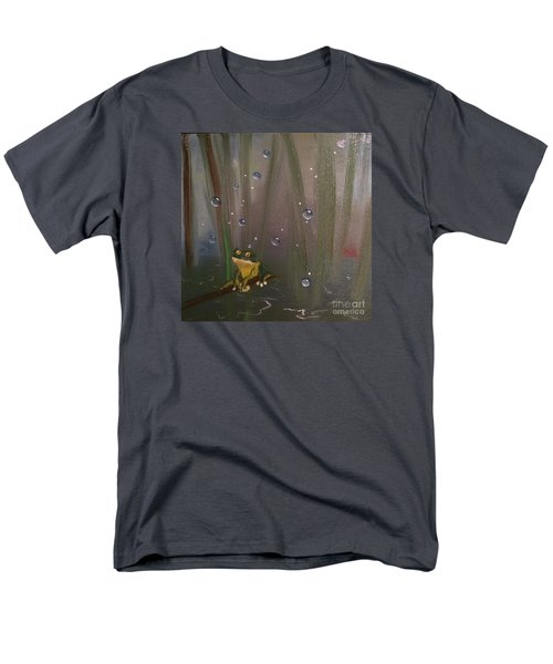 Men's T-Shirt  (Regular Fit) featuring the painting What by Denise Tomasura