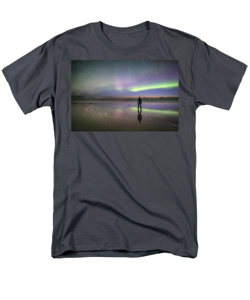 What Is Up And Down? Men's T-Shirt  (Regular Fit) by Alex Conu