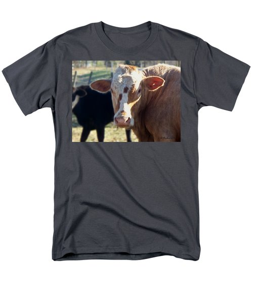 Men's T-Shirt  (Regular Fit) featuring the photograph What You Lookin' At by Betty Northcutt