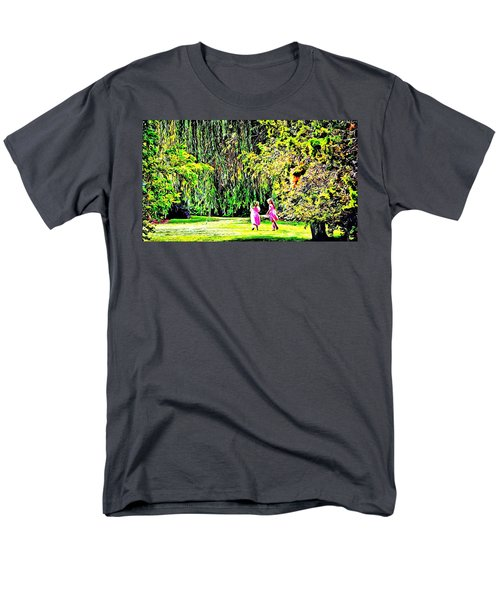 Men's T-Shirt  (Regular Fit) featuring the photograph When We Were Young II by Barbara Dudley